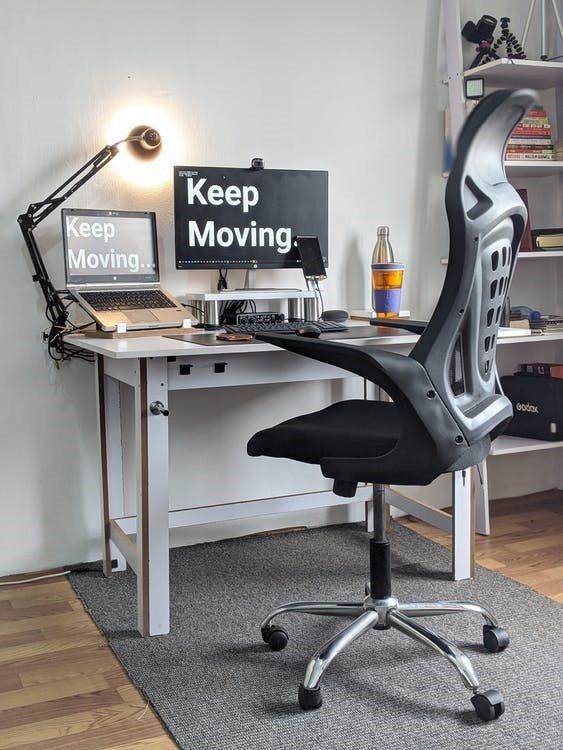 WFH workstation